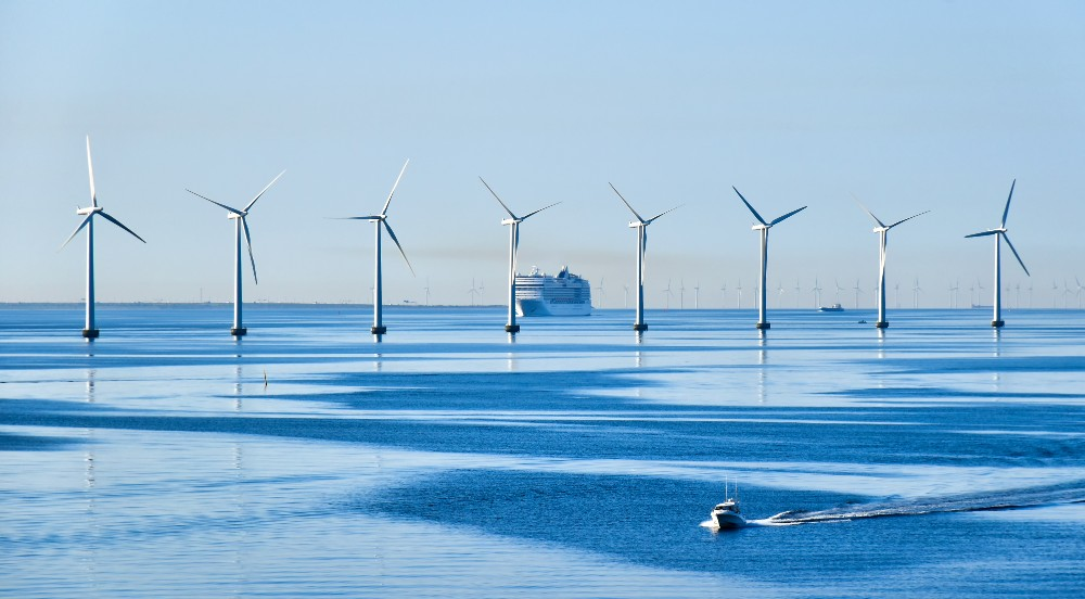 offshore wind turbines clean energy